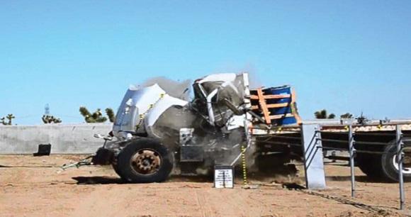 Anti-ram crash tests