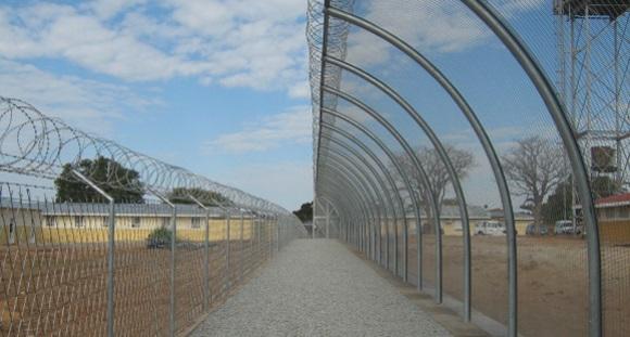 Correctional facilities fencing