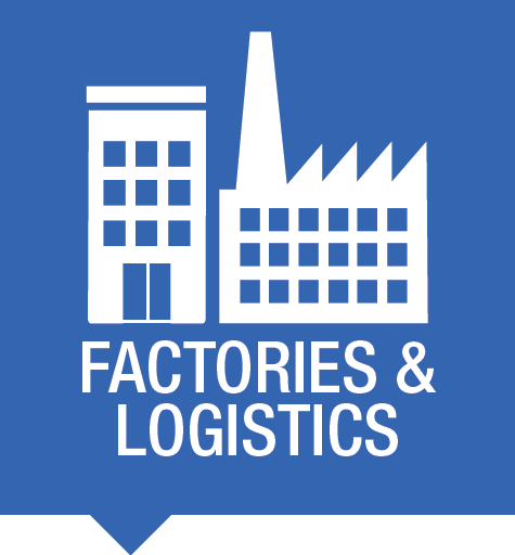 Factories and logistics