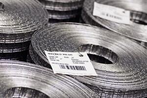 Filter mesh rolls