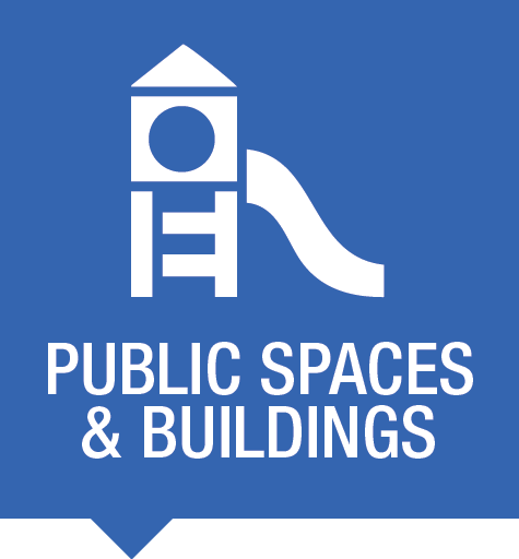 Public and building spaces perimeter protection