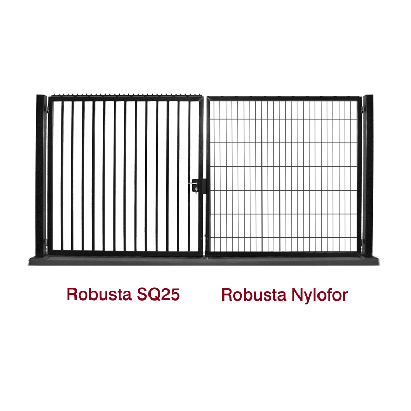Robusta-Nylofor & SQ25 gates