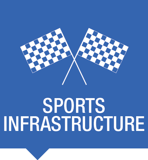 We secure your sports events and insfrastructures
