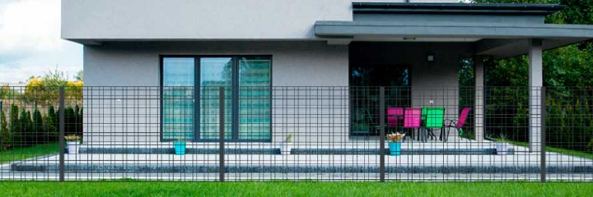 Your fence is installed with Betafence configurator