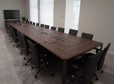 Betafence Milan meeting room