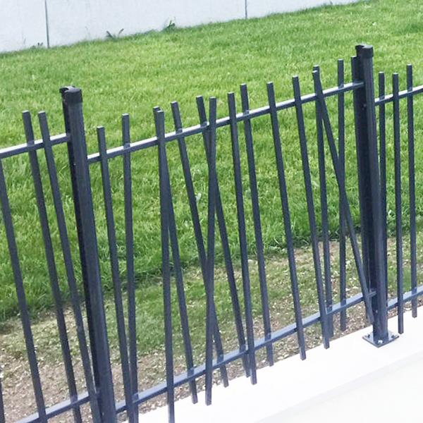 attractive residential swing gate creazen gate betafence