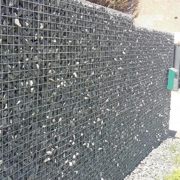 Stone Fence System Gabion Stonewall Betafence