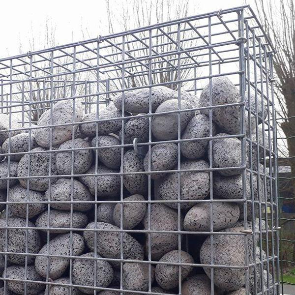 stone fence system gabion stonewall betafence. Black Bedroom Furniture Sets. Home Design Ideas