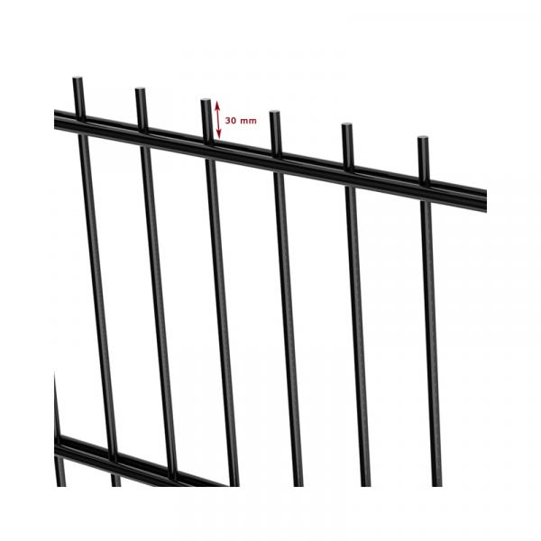 double bar panels for professionnal - nylofor 2ds