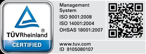 TUV Certification Betafencer