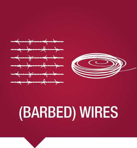 Barbed wires & wires