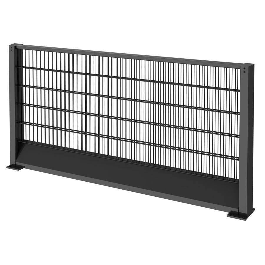 Elevatable fence