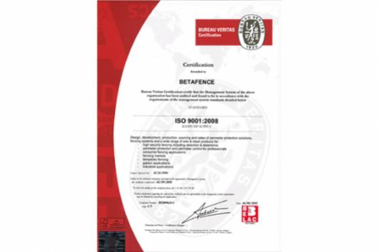 betafence-certification-iso-9001