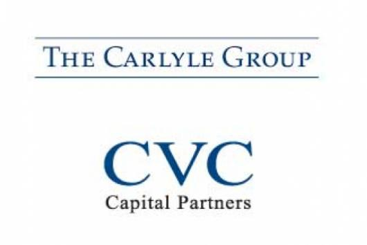 logo from carlyle group and cvc partner